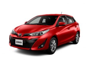 Yaris Super Rojo